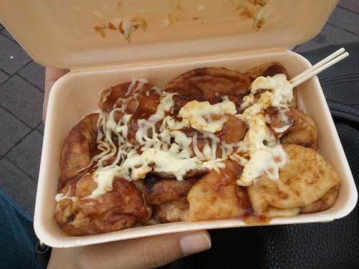 The real takoyaki. Gendut tapi kempes, ga kebanyakan tepung