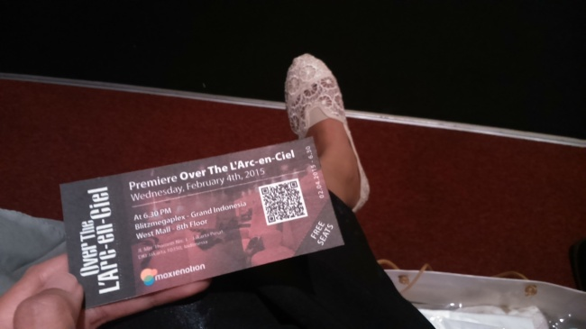 The premiere ticket