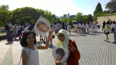 with Nana (Dewi yang moto) XD